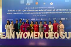 """Hội nghị Thượng đỉnh Doanh nhân nữ ASEAN với chủ đề: """"THAY ĐỔI VÌ MỘT CỘNG ĐỒNG DOANH NHÂN NỮ MẠNH MẼ VÀ THÍCH ỨNG HƠN"""