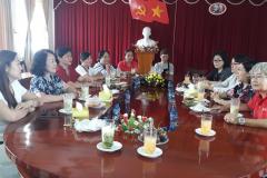 Đoàn Nữ Doanh nghiệp khởi nghiệp đến làm việc và học tập kinh nghiệm hoạt động và mô hình trưng bày giới thiệu sản phẩm của nữ DN Khởi nghiệp tỉnh Đồng Tháp